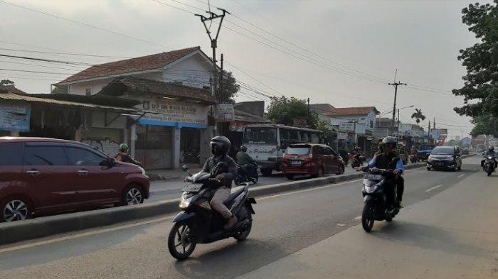 INFO Lalin Jalan Raya Kemang: Arah Kota Bogor Masih Ramai Lancar