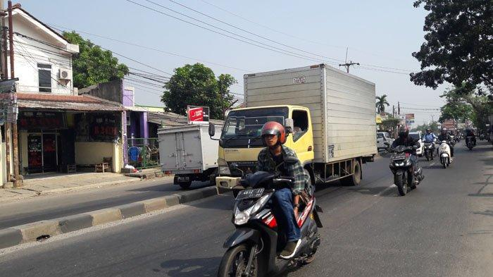 Jalan Raya Kemang Bogor Lancar Arah Jalan Sholeh Iskandar