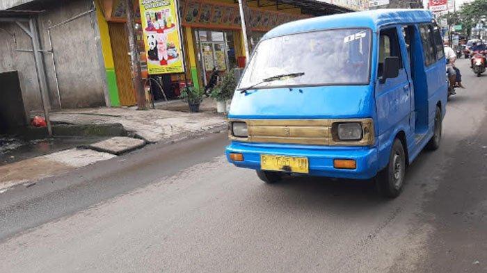 Kondisi Arus Lalu Lintas di Jalan Raya Pabuaran Menuju Bojonggede Pagi Ini Lancar di Kedua Arah