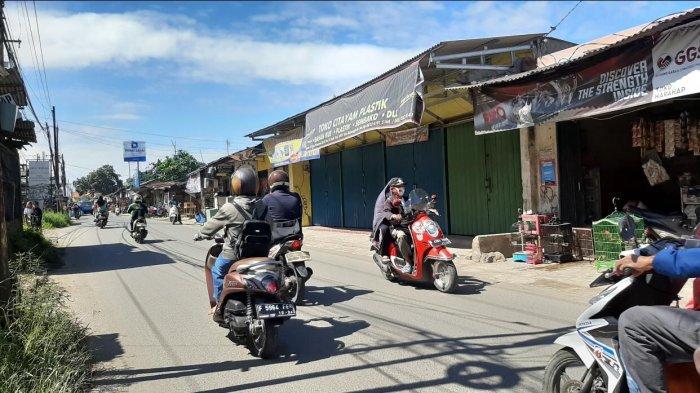 Pagi Ini Arus Lalu Lintas Menuju Bojonggede Lancar di Kedua Arah
