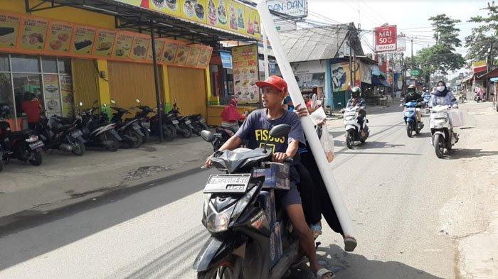 Pagi Ini Jalan Raya Pabuaran Menuju Bojonggede Lancar Di Kedua Arah