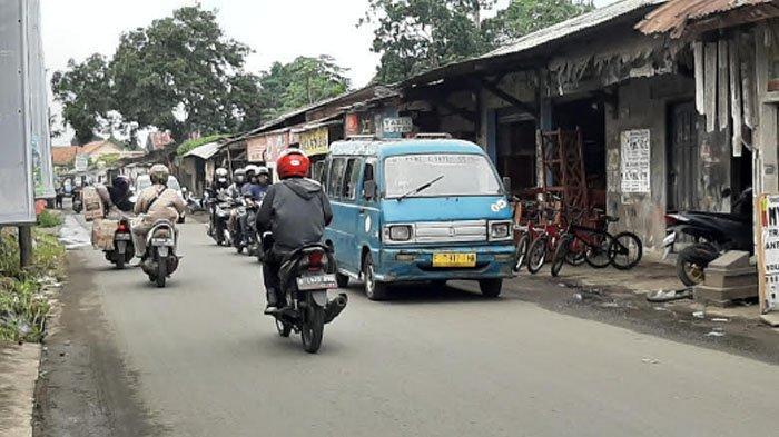 Pagi Ini Jalan Raya Pabuaran Menuju Bojonggede Ramai Lancar