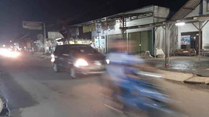 Malam Ini Jalan Raya Pabuaran Bojonggede Tak Ada Hambatan Dikedua Arah