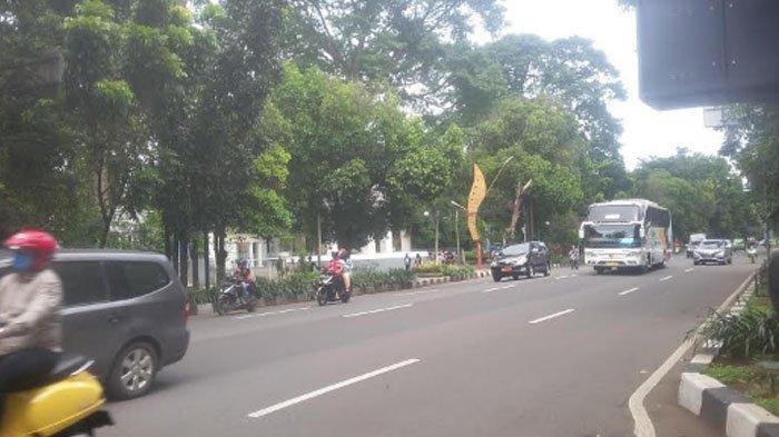 Update Lalu Lintas Jalan Raya Pajajaran Saat Akhir Pekan, Ramai Lancar