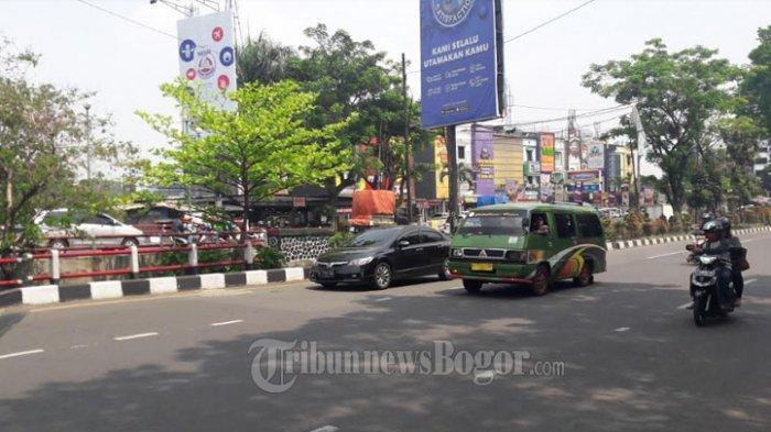 Laju Kendaraan di Jalan Raya Pajajaran Arah Tajur Saat Ini Ramai Lancar