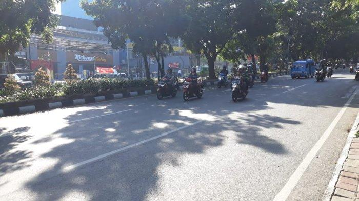 INFO LALU LINTAS - Simpang Jalan Sukasari Bogor Pagi Ini Lancar