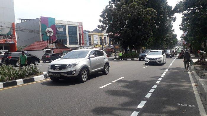 UPDATE Info Lalin Jalan Pajajaran Kota Bogor Pukul 10.50 WIB, Cuaca Cerah