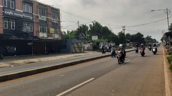 Pagi Ini Jalan Raya Parung Bogor Lancar di Kedua Arah