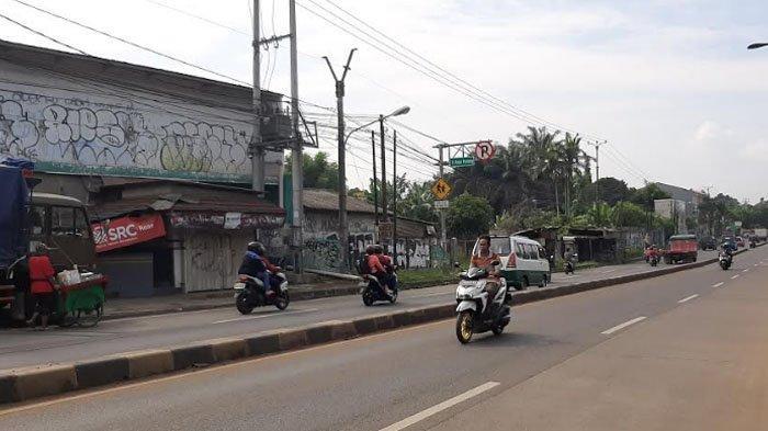Cuaca Cerah, Pagi Ini Jalan Raya Parung Lancar di Kedua Arah