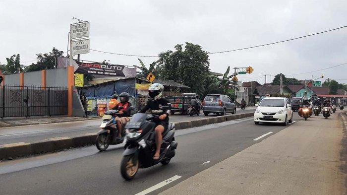 INFO LALU LINTAS - Jalan Raya Parung Pagi Ini Lancar dari Kedua Arah