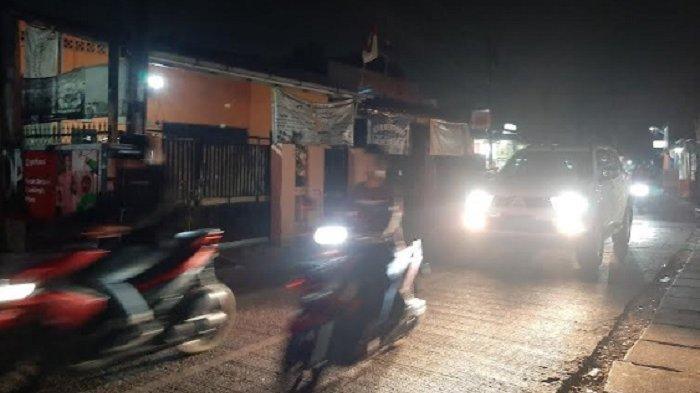 Malam Ini Jalan Raya Pitara Menuju Bojonggede Bogor Lancar Kedua Arah