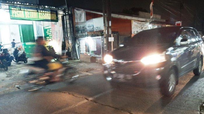 Lalu Lintas Jalan Raya Pitara Depok Menuju Bojonggede Bogor Tak Ada Hambatan