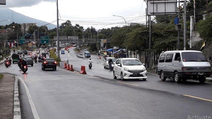 Situasi Arus Balik Wisatawan di Jalur Puncak Bogor, Volume Kendaraan Arah Jakarta Meningkat