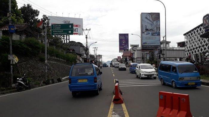 Jelang Tahun Baru, Arus Kendaraan di Puncak Bogor Saat Ini Ramai Lancar Tak Ada One Way