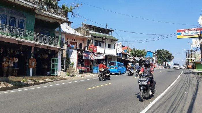 Masih PPKM Level 4, Kondisi Arus Lalu Lintas di Puncak Bogor Lengang