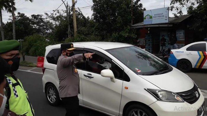 Wakapolda Jabar Putar Arah Puluhan Pengendara di Puncak Bogor Karena Tak Bawa Surat Rapid Antigen