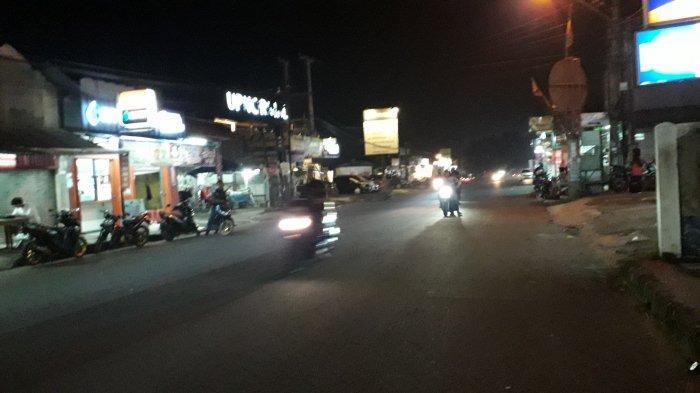 Info Lalu Lintas : Begini Kondisi Jalan Raya Sukahati Malam Ini