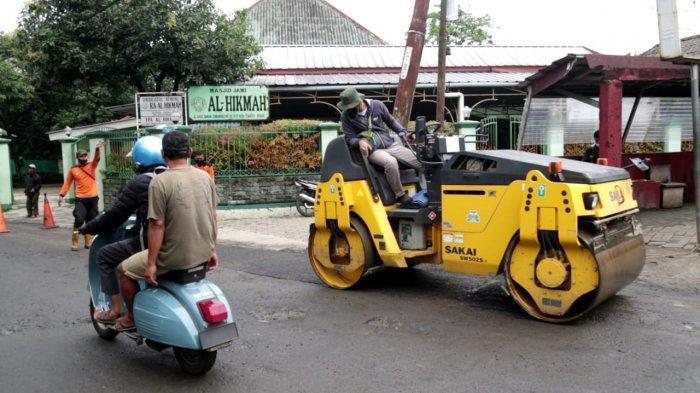 Dinas PUPR Kota Bogor Kebut Perbaikan 34 Titik Jalan Rusak Akibat Musim Hujan