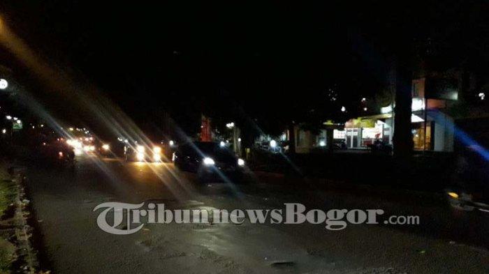 Malam Ini Jalan Semeru Kota Bogor Lancar