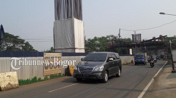 Lalu Lintas Jalan KH Sholeh Iskandar Bogor saat Ini Masih Lancar, Pengendara Diimbau Hati-hati