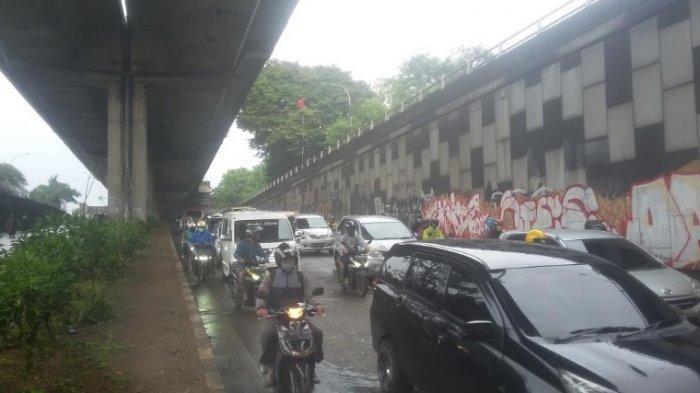 UPDATE Info Lalin: Senin Pagi Jalan Sholeh Iskandar Kota Bogor Macet Parah, Ini Penyebabnya