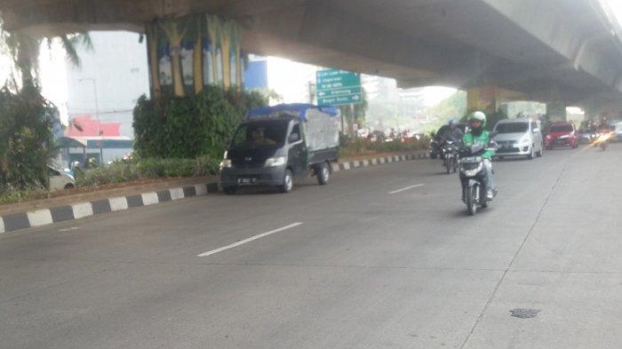 Laju Kendaraan di Simpang Tol BORR Arah Yasmin Lancar Rabu Pagi Ini