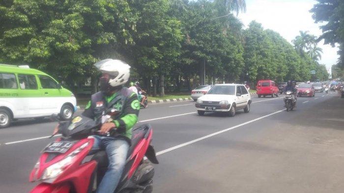 Lalu Lintas di Jalan Sudirman Kota Bogor saat Ini Ramai Lancar