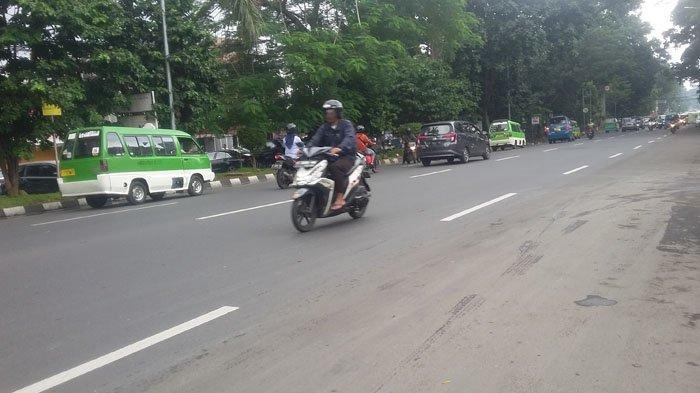 Lalu Lintas Jalan Sudirman Bogor Saat Ini Lancar Tanpa Hambatan Berarti