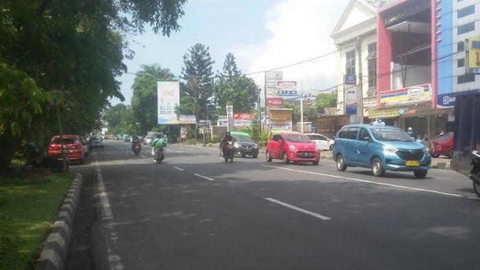 Jelang Siang Ini, Lalu Lintas Jalan Ahmad Yani hingga Jalan Sudirman Lancar