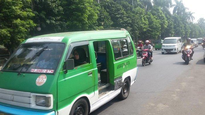 Info Lalu Lintas : Lalu Lintas Di Jalan Sudirman arah Istana Bogor Lancar