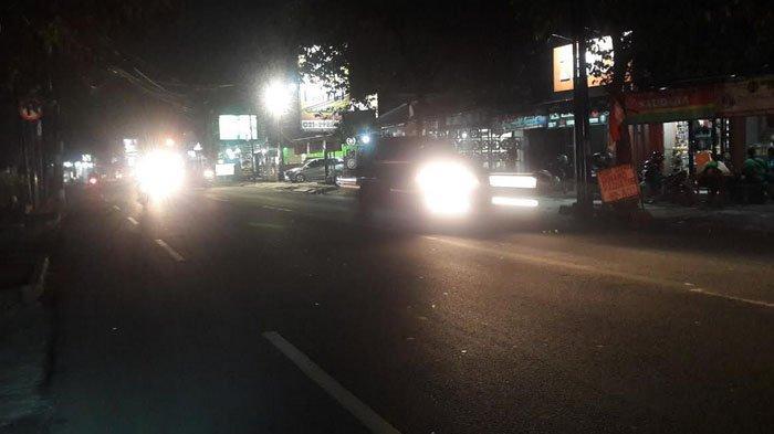 Info Lalu Lintas: Jalan Raya Sukahati Cibinong Malam Ini Ramai Lancar