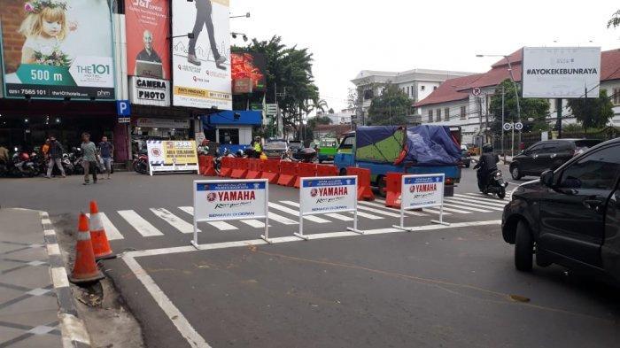 Biang Macet, Jalan Suryakencana Bogor Ditutup