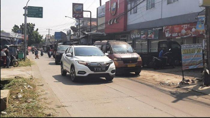 UPDATE Lalin Depok: Jalan Raya Citayam Menuju Bojonggede Bogor dan Depok Lancar Dari Kedua Arah