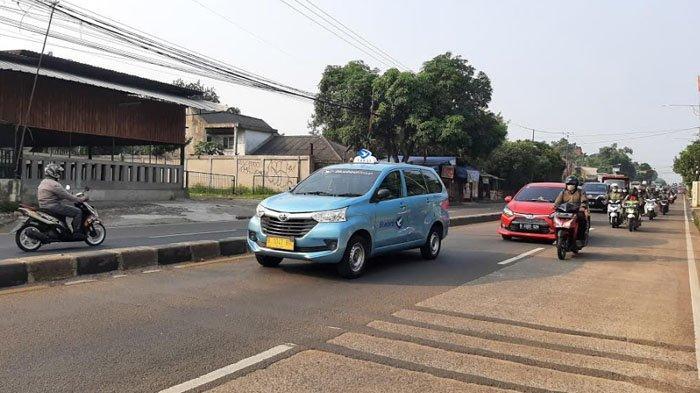 Pagi Ini Jalan Raya Parung Bogor Ramai Lancar di Kedua Arah