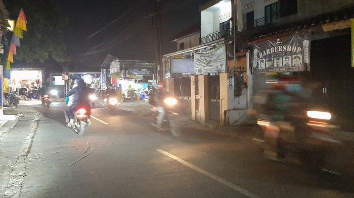 Info Lalu Lintas : Malam Ini Jalan Raya Pitara Depok Menuju Bojonggede Lancar Kedua Arah