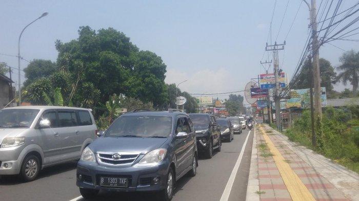 Jelang PSBB Total Jakarta, Begini Situasi di Jalur Puncak Akhir Pekan