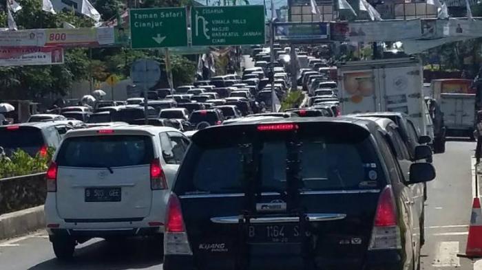 Jalur Puncak Bogor Bakal Ditutup Total saat Malam Tahun Baru 2021, Motor dan Mobil Dilarang Melintas