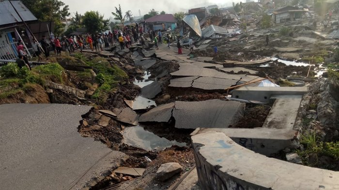 Gempa Susulan Masih Terus Terjadi di Palu, Warga Diimbau Tak Huni Rumah Dulu