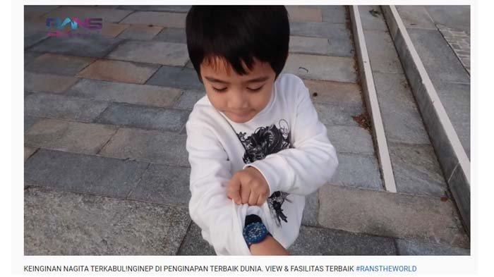 Jadi Kolektor Jam Tangan, Rafathar Bikin Bule Ini Tertawa saat Ditawari Koleksi Barang Mahal