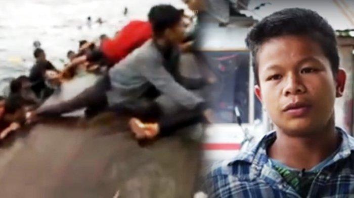 Korban Selamat Sempat Naik Bangkai Kapal KM Sinar Bangun, Kaki Ditarik dan Lihat Air Banyak Darah