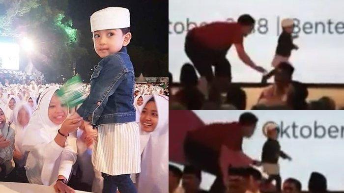 Diajak Jokowi ke Apel Santri Nusantara, Tingkah Jan Ethes di Panggung Bikin Paspamres Kewalahan