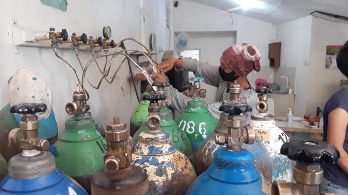 Jasa Isi Ulang Oksigen di Bogor Kewalahan, Cari Tambahan Pasokan Hingga ke Luar Kota