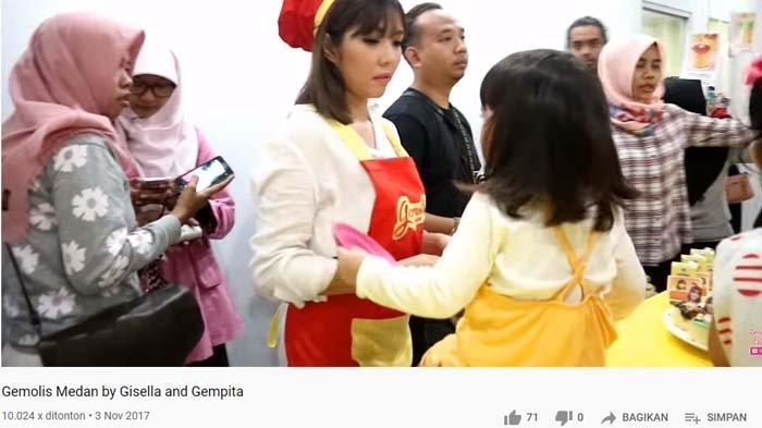 Jejak Gisel di Medan tahun 2017 sebelum video syur terkuak, sempat buka toko kue