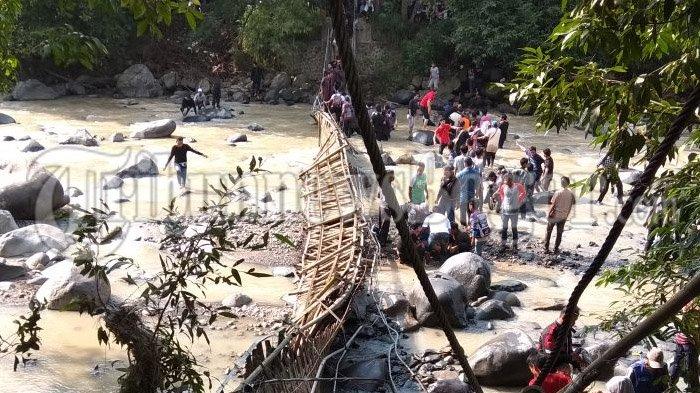 Dalami Kasus Jembatan Putus Di Penangkaran Rusa Cariu, Polres Bogor Akan Panggil Saksi Ahli