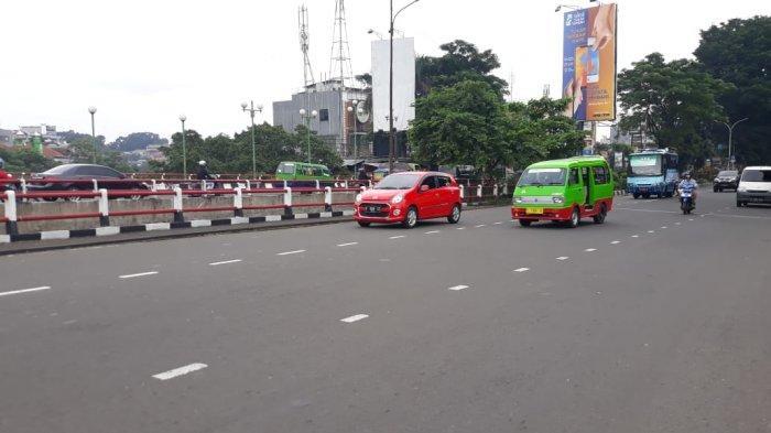 Kondisi Lalu Lintas Jalan Pajajaran Bogor Arah Ciawi