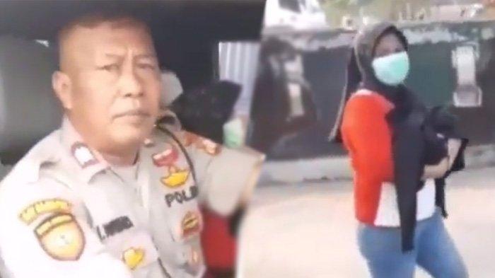 Viral Wanita Jalan Kaki Gendong Jenazah Bayi di Jakarta Utara, Tindakan Polisi Tuai Pujian