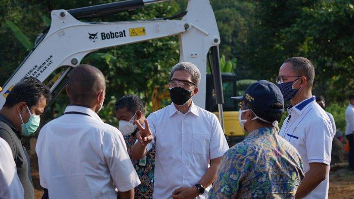 Bantu Penanganan Pemakaman Jenazah Covid-19 di Kota Bogor, Kementerian PUPR Kerahkan Eskavator