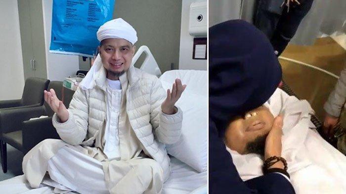 Video Jenazah Ustaz Arifin Ilham Sebelum Diberangkatkan ke Tanah Air, Wajahnya Tersenyum