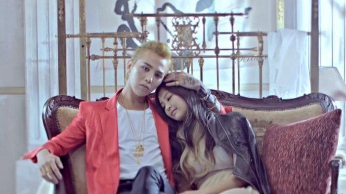 Sudah Pacaran 1 Tahun, Jennie BLACKPINK dan G-Dragon Sempat Kepergok Mesra di Video Klip Ini