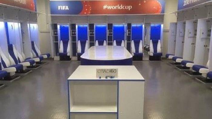Mengintip Bersihnya Ruang Ganti Pemain Timnas Jepang di Piala Dunia 2018, Ada Pesan Tertinggal